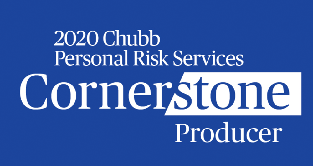 2018 Chubb Personal Risk Services Cornerstone
