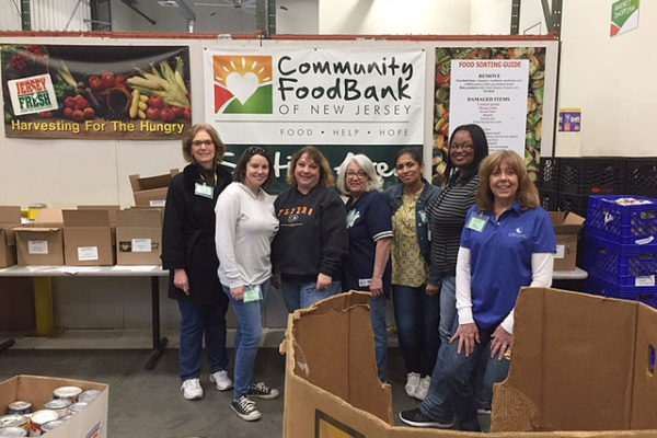 Volunteering with the Community Food Bank