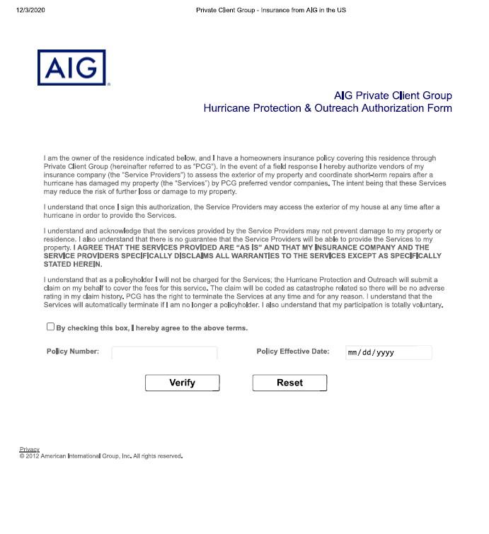 AIG-authorization-hurricane