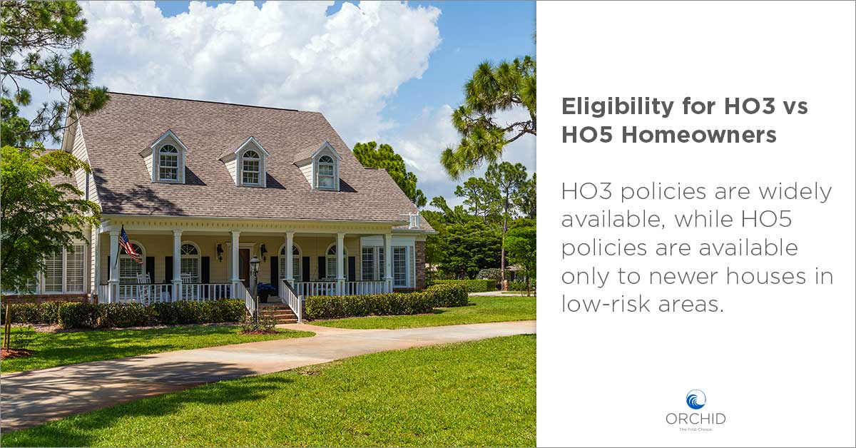 HO3 vs HO5 Homeowners Insurance Policies