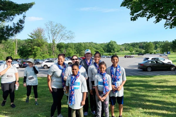 Peabody Office ran a 5K to raise money for the Lahey Clinic Cancer Center