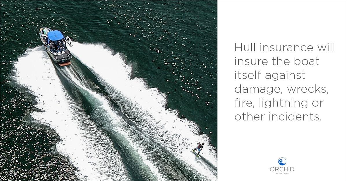 Boat Insurance, hull insurance
