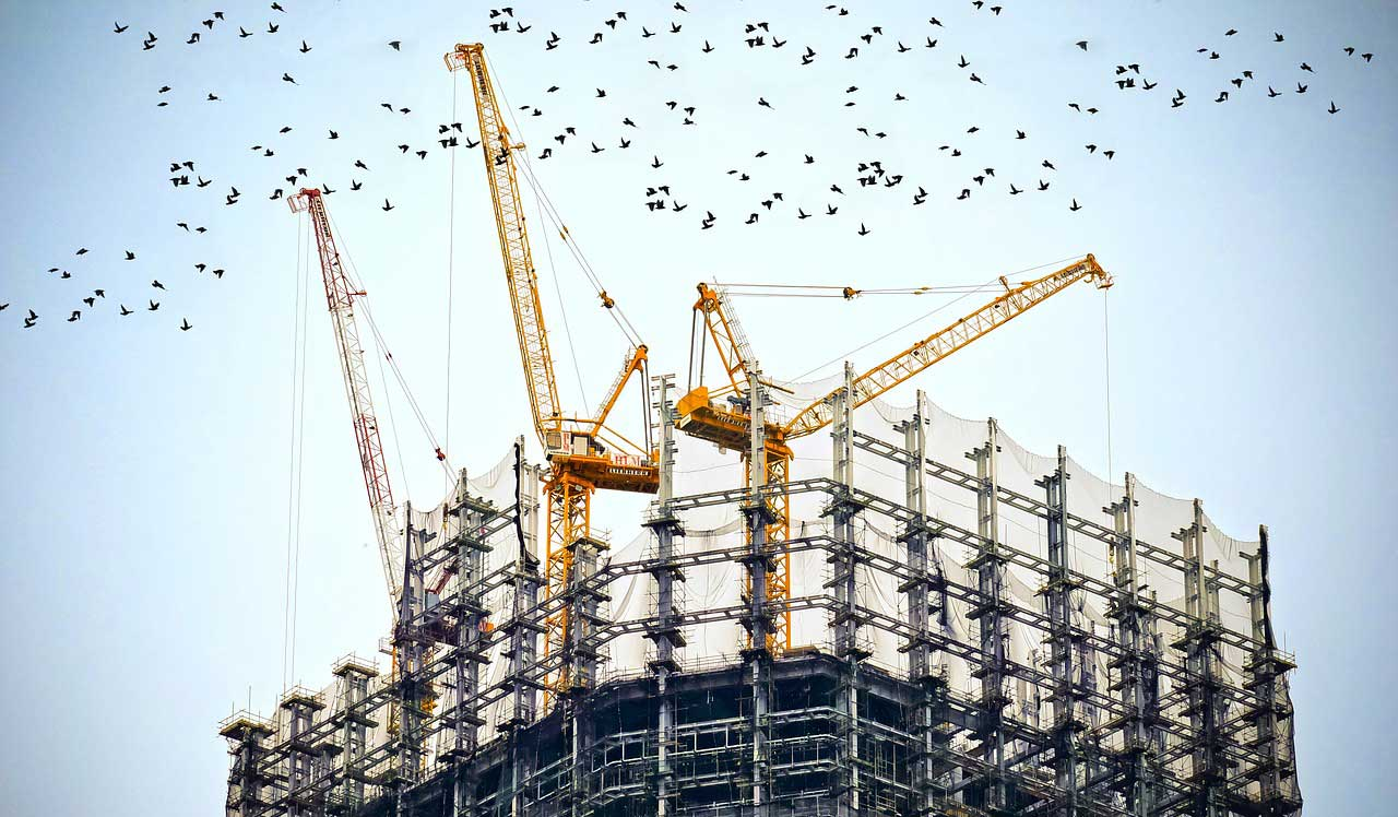 Buildings under construction need Commercial Builder's Risk