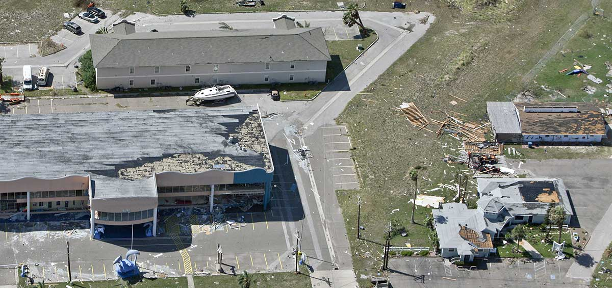 Wind Damage to a Commercial Building
